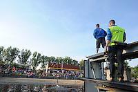 FIERLJEPPEN: IJLST: Watte Abma Skânsen, 05-06-2013, Fierljepferiening Drylts e.o., ©foto Martin de Jong