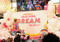 NEW YORK, NY - November 07: Jo Jo Siwa announces her tour during a live broadcast on YouTube at Sugar Factory in New York City on November 07, 2018. <br /> CAP/MPI/RW<br /> &copy;RW/MPI/Capital Pictures