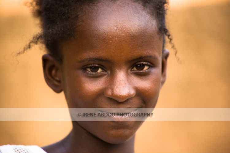 Young Fulani woman in Ouagadougou, Burkina Faso.