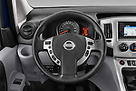 Car pictures of steering wheel view of a 2014 Nissan Evalia Connect Edition 5 Door Mini MPV 2WD Steering Wheel