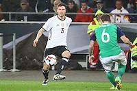 Jonas Hector (Deutschland Germany)- 11.10.2016: Deutschland vs. Nordirland, HDI Arena Hannover, WM-Qualifikation Spiel 3