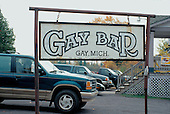 Gay Bar sign in Gay, Michigan