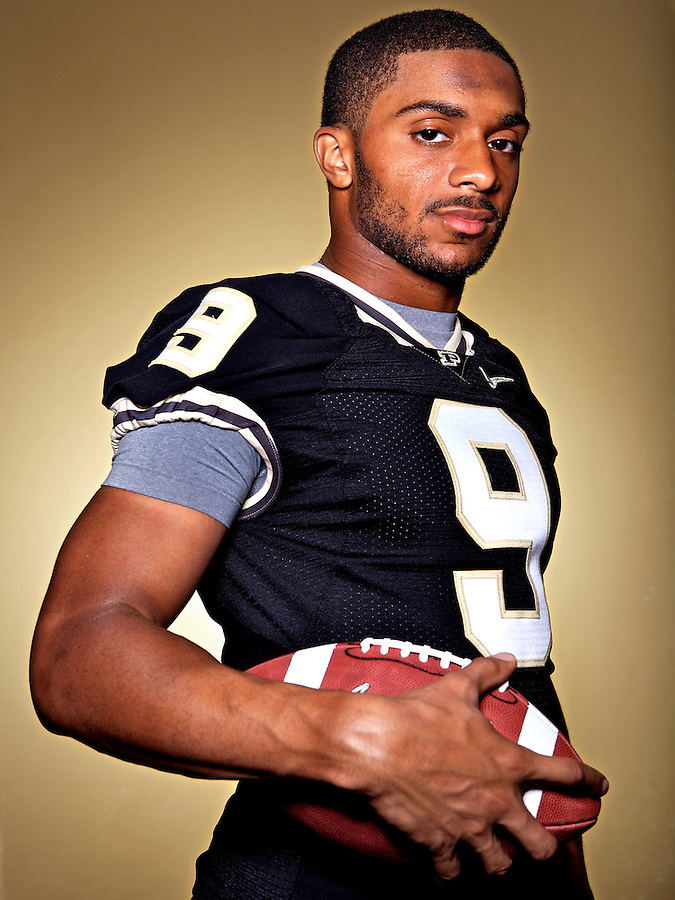Purdue WR Dorien Bryant in West Lafayette on Monday, August 20, 2007.