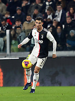 Calcio, Serie A: Juventus - Milan, Turin, Allianz Stadium, November 10, 2019.<br /> Juventus' Cristiano Ronaldo in action during the Italian Serie A football match between Juventus and Milan at the Allianz stadium in Turin, November 10, 2019.<br /> UPDATE IMAGES PRESS/Isabella Bonotto