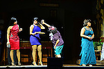 "MIAMI, FL - APRIL 30: Monica Blaire, Patrice Lovely and Cheryl ""Pepsii"" Riley on stage during 'Hell Hath No Fury Like A Woman Scorned' a musical play created Tyler Perry, on April 30, 2014 in Miami, Florida. (Photo by Johnny Louis/jlnphotography.com)"