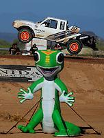 Apr 16, 2011; Surprise, AZ USA; LOORRS driver Corey Sisler (19) during round 3 at Speedworld Off Road Park. Mandatory Credit: Mark J. Rebilas-.