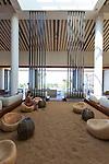 The lobby of the Andaz hotel in Wailea, Maui, Hawaii