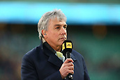 7th December 2017, Twickenham Stadium, London, England; The Mens Varsity Match, Cambridge versus Oxford;  TV pundit John Inverdale at pitch side for pre-match analysis