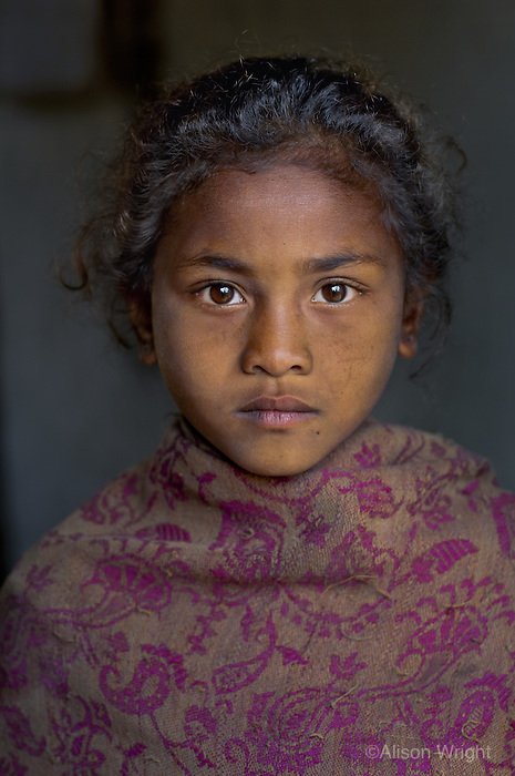 Girl in Dang, Nepal, 2006