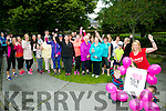 Claire Molloy of Slimming World in Tralee with Ryan and Adam Molloy and a large turn out started the 'Step For Smiles' charity walk in aid of cancer awareness charity the Marie Keating Foundation on Sunday in Tralee Town Park