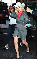 NEW YORK, NY - OCTOBER 9: Sara Hines seen at ABC's Strahan, Sara & Keke in New York city on October 09, 2019. Credit: RW/MediaPunch