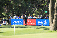 Thorbjorn Olesen (DEN) in action on the 2nd during Round 2 Matchplay of the ISPS Handa World Super 6 Perth at Lake Karrinyup Country Club on the Sunday 11th February 2018.<br /> Picture:  Thos Caffrey / www.golffile.ie<br /> <br /> All photo usage must carry mandatory copyright credit (&copy; Golffile | Thos Caffrey)