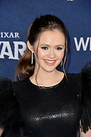 """LOS ANGELES, CA: 18, 2020: Olivia Sanabia at the world premiere of """"Onward"""" at the El Capitan Theatre.<br /> Picture: Paul Smith/Featureflash"""