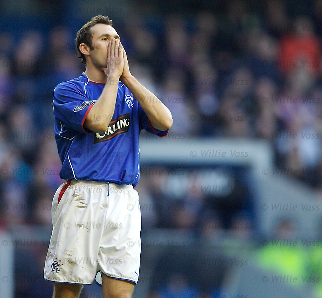Thomas Buffel, Rangers.stock season 2005-2006.pic willie vass