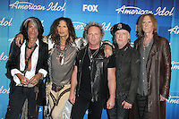 Aerosmith at Fox's 'American Idol 2012' Finale Results Show at Nokia Theatre L.A. Live on May 23, 2012 in Los Angeles, California. © mpi27/MediaPunch Inc.
