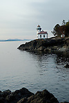 Lighthouse at Lime Kiln Point State Park on San Juan Island