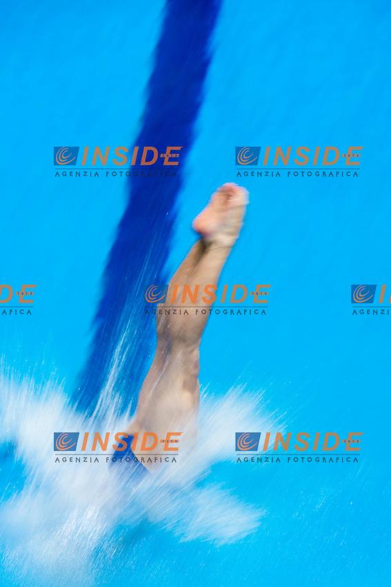 Jouni KALLUNKI FIN Finland <br /> 1m Springboard Men<br /> London, Queen Elizabeth II Olympic Park Pool <br /> LEN 2016 European Aquatics Elite Championships <br /> Diving  <br /> Day 02 10-05-2016<br /> Photo Andrea Staccioli/Deepbluemedia/Insidefoto