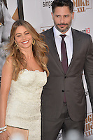 Joe Manganiello &amp; fianc&eacute;e Sofia Vergara at the world premiere of his movie &quot;Magic Mike XXL&quot; at the TCL Chinese Theatre, Hollywood.<br /> June 25, 2015  Los Angeles, CA<br /> Picture: Paul Smith / Featureflash