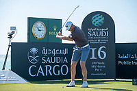 Victor Perez (FRA) on the 16th tee during the Pro-Am at the Saudi International powered by Softbank Investment Advisers, Royal Greens G&CC, King Abdullah Economic City,  Saudi Arabia. 29/01/2020<br /> Picture: Golffile | Fran Caffrey<br /> <br /> <br /> All photo usage must carry mandatory copyright credit (© Golffile | Fran Caffrey)