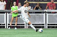 ATLANTA, Georgia - August 27: Chase Gasper #77 during the 2019 U.S. Open Cup Final between Atlanta United and Minnesota United at Mercedes-Benz Stadium on August 27, 2019 in Atlanta, Georgia.