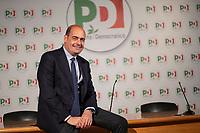 Roma, 14 Maggio, 2019. Il Segretario del Partito Democratico Nicola Zingaretti.