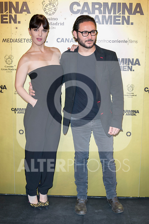 "Spanish  actors Sara Vega (Left) and Carlos Santos (Right) attend the Premiere of the movie ""Carmina y Amen"" at the Callao Cinema in Madrid, Spain. April 28, 2014. (ALTERPHOTOS/Carlos Dafonte)"