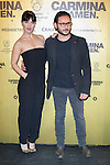 "Spanish  actors Sara Vega (Left) and Carlos Santos (Right) attend the Premiere of the movie ""Carmina y Amen"" at the Callao Cinema in Madrid, Spain. April 28, 2014. (ALTERPHOTOS/Carlos Dafonte)"