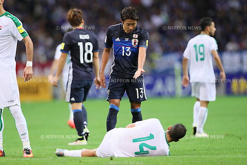 Hiroshi Kiyotake (JPN), <br /> OCTOBER 6, 2016 - Football / Soccer : <br /> FIFA World Cup Russia 2018 Asian Qualifier <br /> Final Round Group B <br /> between Japan 2-1 Iraq <br /> at Saitama Stadium 2002, Saitama, Japan. <br /> (Photo by Yohei Osada/AFLO SPORT)