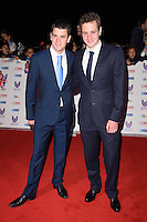 Johnny and Alistair Brownlee<br /> at the Pride of Britain Awards 2016, Grosvenor House Hotel, London.<br /> <br /> <br /> ©Ash Knotek  D3191  31/10/2016