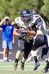 Palos Verdes, CA 09/13/13 - Ryan Augello (Peninsula #29) in action during the Culver City vs Palos Verdes Peninsula High School Varsity Football game at Palos Verdes Peninsula HIgh School.