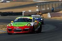 Porsche GT3 Cup Challenge USA<br /> Sonoma Raceway<br /> Sonoma Raceway, Sonoma, CA USA<br /> Sunday 17 September 2017<br /> 45, Charlie Luck IV, GT3G, USA, 2016 Porsche 991<br /> World Copyright: Jake Galstad<br /> LAT Images
