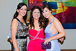 Enjoying the NAGS College Ball at Ballyroe Heights on Thursday were Katie O'Sullivan, Diane Shannon and Valerie Lynch