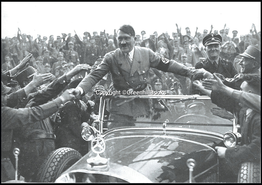 BNP.co.uk (01202 558833)<br /> Pic: GreenhillBooks/BNPS<br /> <br /> The Führer's Benz of choice which was bulletproofed, but vulnerable.<br /> <br /> The story of Hitler's Third Reich is told in a unique way in a new book which provides a fresh insight into the sinister regime through 100 objects.<br /> <br /> Included in the comprehensive list is Hitler's personal moustache brush which was taken from the bedroom of his Munich apartment after his death by his housekeeper Anni Winter. <br /> <br /> Historian Roger Moorhouse also reveals the bizarre tale of Nazi deputy leader Rudolf Hess' long johns which were seized by the British after his misjudged decision to fly to Britain in 1941 for 'peace' talks.<br /> <br /> They were confiscated by the British secret service for 'propaganda' purposes and have been locked away in the Imperial War Museum archives in London for the past 75 years.