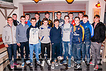 Listowel Emmets U/16 Celabration : The Listowel Emmetts U/16 team that won the North Kerry U/16 League celebrating their win at Casa Mia's restaurant, Listowel on Saturday night last. Front : Darren Loughnane, Shane Loughnane, Lorcan Wall, Michael Kennedy, Dylan Houlihan, Sean Keane, Shane Hughes, Conor Costello & Robert Smith. Back : Daniel Houlihan, Daniel Sheahan, Devan McKenna, Eddie Joy, Cian McCarthy, Jack O'Donovan & Ciaran Pierse.