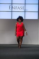 SÃO PAULO, SP, 24.07.2016 - MODA-SP - Desfile da marca Ênfase durante o 14 Fashion Weekend Plus Size que acontece neste domingo, 24 no Centro de Convenções Frei Caneca.(Foto: Ciça Neder/Brazil Photo Press)