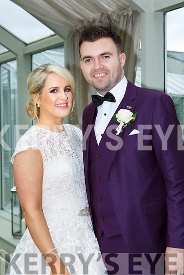 Niamh O'Brien, Dromduhigh, Killarney, daughter of Pat and Margaret, and Stephen O'Callaghan, Inch, Clonkeen, son of Kieran and Mary who were married in St Marys Cathedral on Saturday, Fr Bill Radley officiated at the ceremony, best man was Kevin O'Callaghan, groomsmen were Michael O'Shea and James O'Sullivan, bridesmaids were Nicola Ryan, Trish Fleming and M ary Brosnan, flowergirl was Faye O'Brien, the recption was held in the Malton Hotel and the couple will reside in Oakfield Killarney