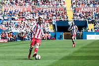VALENCIA, SPAIN - MARCH 10: Griezmann during BBVA LEAGUE match between Levante U.D. Andr Atletico de Madrid at Ciudad de Valencia Stadium on March 10, 2015 in Valencia, Spain
