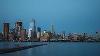NEW YORK, NY - 09.06.2017 - LUA-NEW YORK - Vista de Manhattan em New York na noite desta sexta-feira, 09 (Foto: William Volcov/Brazil Photo Press)
