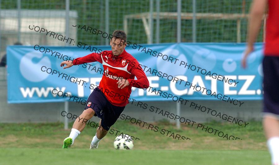 FUDBAL - PRIPREME - CRVENA ZVEZDA - TRENING - Savo Pavicevic fudbaler Crvene Zvezde na treningu.<br /> Brezice, 18.06.2015.<br />                              foto:N.Skenderija