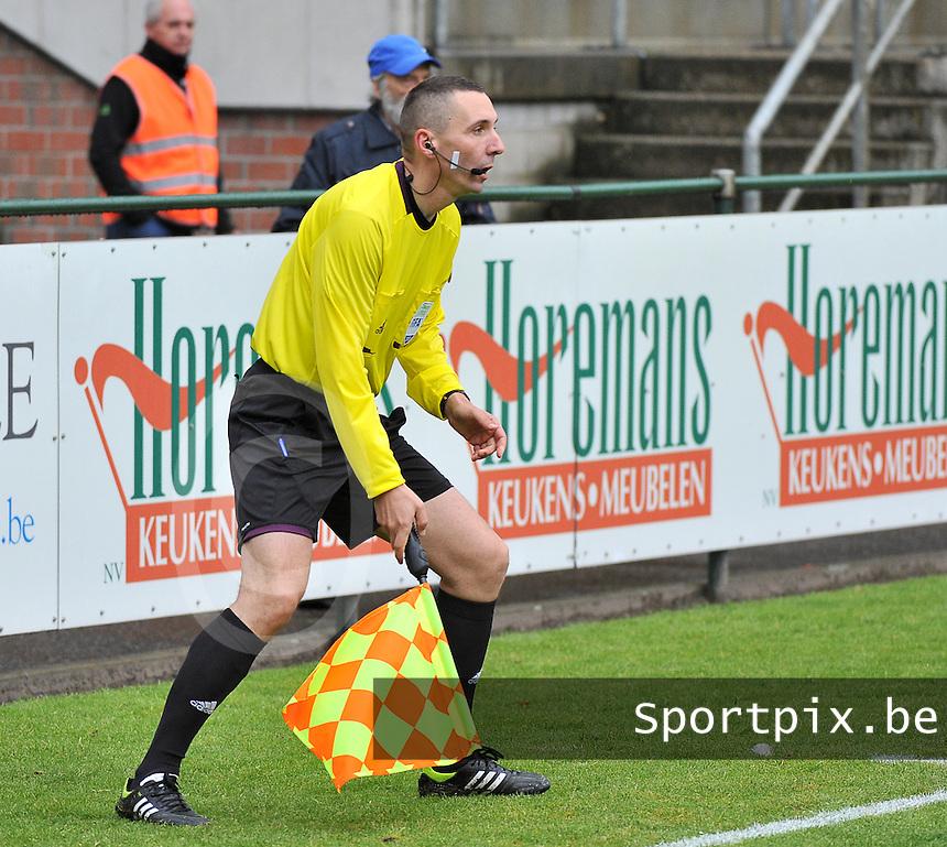 Scotland U19 - Belgium U19 : assistant referee Hrvoje Turudic.foto DAVID CATRY / Nikonpro.be