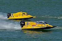 Aaron Wachholz (#13), Terry Rinker (#10)   (Formula 1/F1/Champ class)