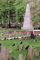 Granary burying ground, Franklin family marker, Boston, MA