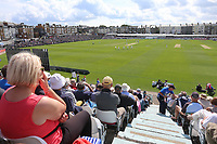 General view of play during Yorkshire CCC vs Essex CCC, Specsavers County Championship Division 1 Cricket at Scarborough CC, North Marine Road on 6th August 2017