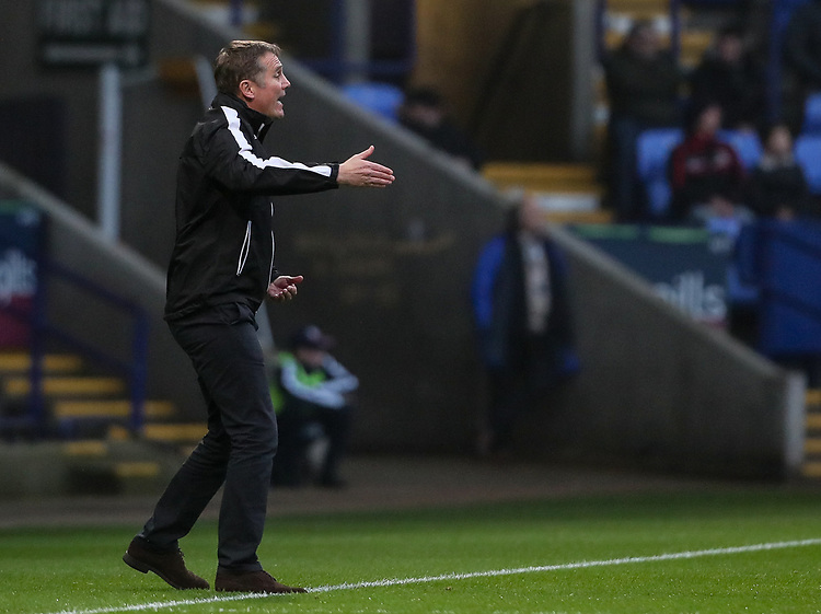 Bolton Wanderers' manager Phil Parkinson <br /> <br /> Photographer Andrew Kearns/CameraSport<br /> <br /> The EFL Sky Bet Championship - Bolton Wanderers v Rotherham United - Wednesday 26th December 2018 - University of Bolton Stadium - Bolton<br /> <br /> World Copyright © 2018 CameraSport. All rights reserved. 43 Linden Ave. Countesthorpe. Leicester. England. LE8 5PG - Tel: +44 (0) 116 277 4147 - admin@camerasport.com - www.camerasport.com