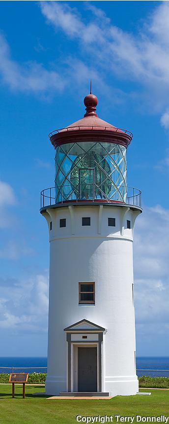 Kauai, Hawaii:  Kilauea Point Lighthouse at Kilauea National Wildlife Refuge on Kauai's north shore
