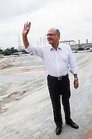 SÃO PAULO,SP, 01.02.2017 - DORIA-ALCKMIN - O governador de São Paulo, Geraldo Alckmin (PSDB), e o prefeito da capital, João Doria (PSDB), participaram da entrega do piscinão Guamiranga, na Vila Prudente, zona leste da cidade, na manhã desta quarta- feira (01). (Foto: Carlos Pessuto/Brazil Photo Press)
