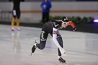 SCHAATSEN: CALGARY: Olympic Oval, 09-11-2013, Essent ISU World Cup, 500m, Danielle Wotherspoon (CAN), ©foto Martin de Jong