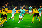 05.11.2019, Signal Iduna Park, Dortmund , GER, Champions League, Gruppenphase, Borussia Dortmund vs Inter Mailand, UEFA REGULATIONS PROHIBIT ANY USE OF PHOTOGRAPHS AS IMAGE SEQUENCES AND/OR QUASI-VIDEO<br /> <br /> im Bild | picture shows:<br /> (Mitte) Lautaro Martinez (Inter #10), <br /> <br /> Foto © nordphoto / Rauch