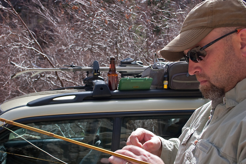 After spending a morning on the slopes Jason and I spend an afternoon on the water.  Spring in Colorado cannot be beat.