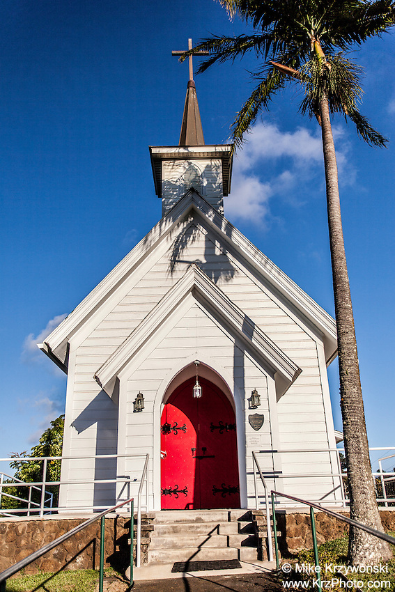 St. Augustine's Episcopal Church, Kapa'au, Big Island, Hawaii